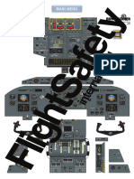 DHC-8 300 (EFIS) Flight Deck