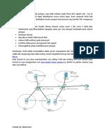 Cara Setting VLAN Dan Routing InterVLAN