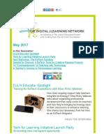 DJLN May 2017 Newsletter