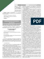 Ordenanza de creación de la Municipalidad del Centro Poblado de San Pedro de Cusi