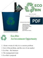 E-Waste Recycling Business Plan