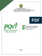 Projeto de Qualidade de Vida - Campus Apodi - Ifrn