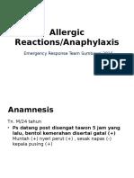 Anafilaxic Reactions