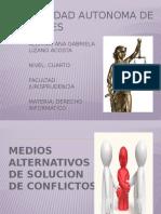 Presentacion de Mediacion y Arbitraje