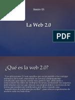 Sesión 05 La Web 2.0