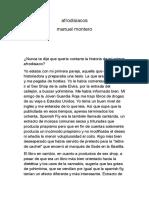 Afrodisiacos ( Manuel Montero )