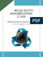 Programa manjeo  integrado de residuos sólidos  - Panificación.doc