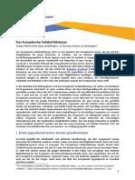 Position Paper ESC Consultation