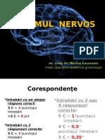 Sistemul Nervos Admitere 2 Apr