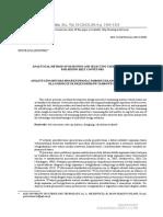 [Archives of Mining Sciences] Analytical Method of Designing and Selecting Take-up Systems for Mining Belt Conveyors Analityczna Metoda Projektowania i Doboru Ukadw Napinania Dla Grniczych Przenonikw Tamowych