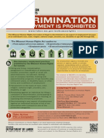 18e Discrimination in Employment is Prohibited MCHR 9