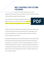 An Economist Shaping the Future of Public Housing