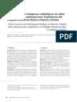 Osteosarcoma Cuadro Clinico e Imagenes Niños
