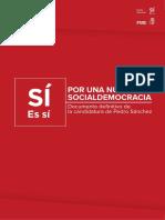 Documento Por Una Nueva Socialdemocracia