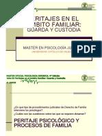 Tema 33 Peritaje en Ambito Familiar. Guarda y Custodia