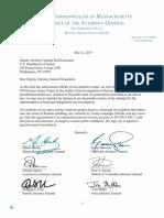 AG Multistate Letter to Deputy Ag Rosenstein 5-11-17
