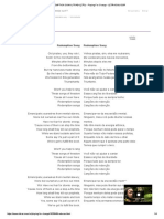 Redemption Song (Tradução) - Playing for Change - Letras.mus