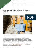 Acervo Digital Reúne Milhares de Livros e Artigos