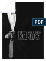 Fifty Shades Official Party Kit