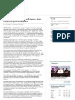 Meirelles Defende Que Reformas e Teto Reduzem Peso Do Estado _ Valor Econômico