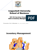 Inventory Management 2016 Updated
