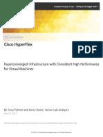 ESG Lab Validation Cisco Hyperflex March 2017