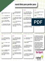 Dieta mensual para perder peso pdf