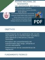 Transformador MonofásicoMI PARTE 3.0
