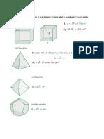 Areas-lateralesy Totales de Cuerpos Geometricos
