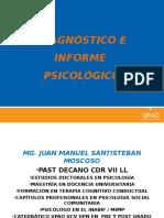 Diagnostico e informe psicológico