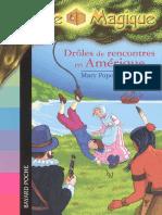 Mary Pope Osborne La cabane magique 22 Droles de rencontres en Amerique.epub