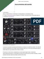 Síntesis (1)_ estructura armónica del sonido _ Hispasonic