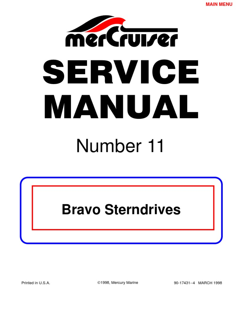 Mercruiser service manual #10 gm 4 cylinder download manuals &a.