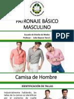 PATRONAJE BÁSICO MASCULINO - Camisa -Pantalon - Saco.pdf