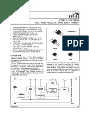dpak-3 STMicroelectronics-lf33cdt-tr 0,5 A ldo regulator IC 16v