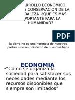Economia vs Ambiente