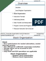 Stack Organization
