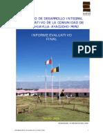CONSTRUCCIÓN  EN TIERRA Y PLANEAMIENTO RURAL EN EL ANDE