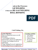 1-3 Cold Welding, Etc