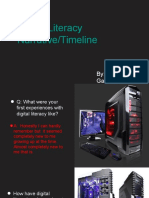 digital literacy narrative 2ftimeline