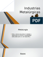 Industrias Metalúrgicas