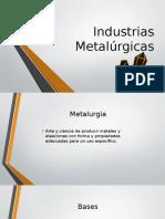 Industrias Metalúrgicas
