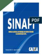 Apostila SINAPI-CEF Módulo Básico