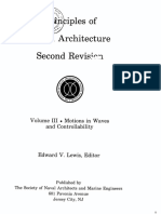 Principles of Naval Architecture Vol III - Chapter IX - Conttrollability