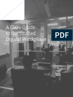 A CIOs Guide to the Unified Digital Workplace