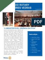News Letter 1º Semestre Rotary 2016