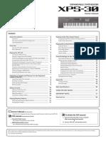 Roland XPS-30 Manual