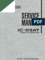 ICOM IC-03AT Service Manual