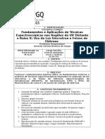 UFRGS PPG QU 2017 Disciplina Tecnicas Espectroscopicas No UV e R X Gerson