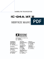 ICOM IC-04AT Service Manual